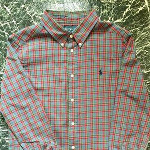 🤩 RL Polo Button Down Shirt Size 14-16 🤩